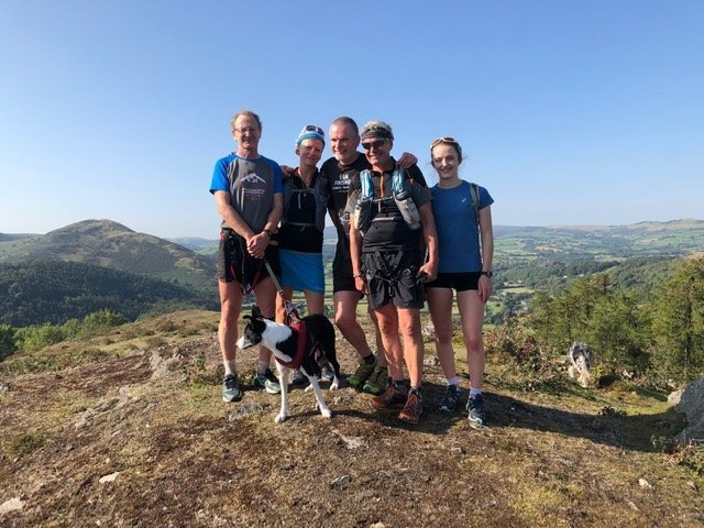Kington 8 Peaks. 21/09/2019. The Carter Cartel juggernaut is unstoppable.