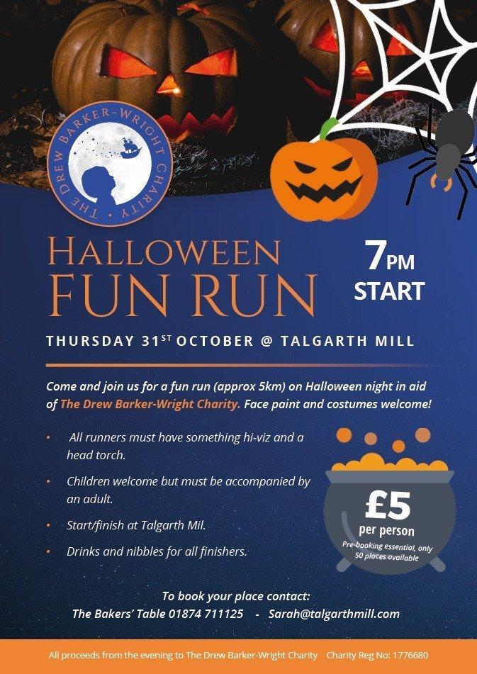 Talgarth Halloween Fun Run 2019